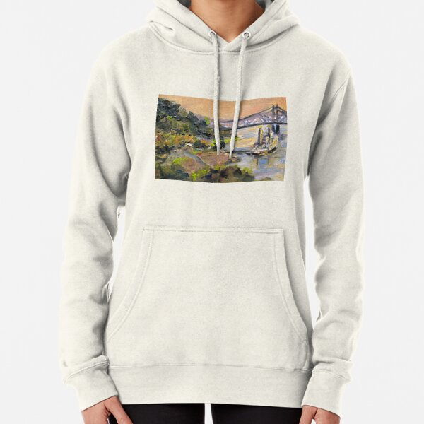 Sunset Under the Hill Pullover Hoodie