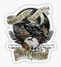 Crooked Kingdom Sticker