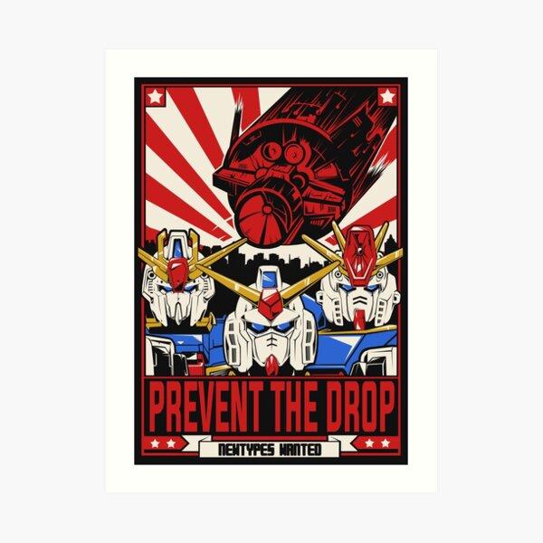 Prevent the Drop Art Print