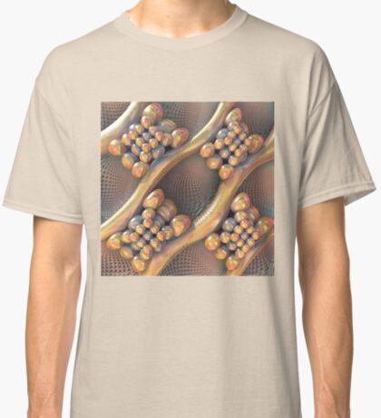Golden #Fractal Classic T-Shirt