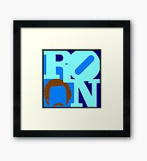 Ron Love Framed Print