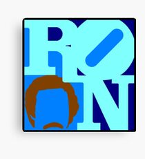 Ron Love Canvas Print