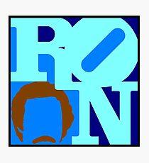 Ron Love Photographic Print
