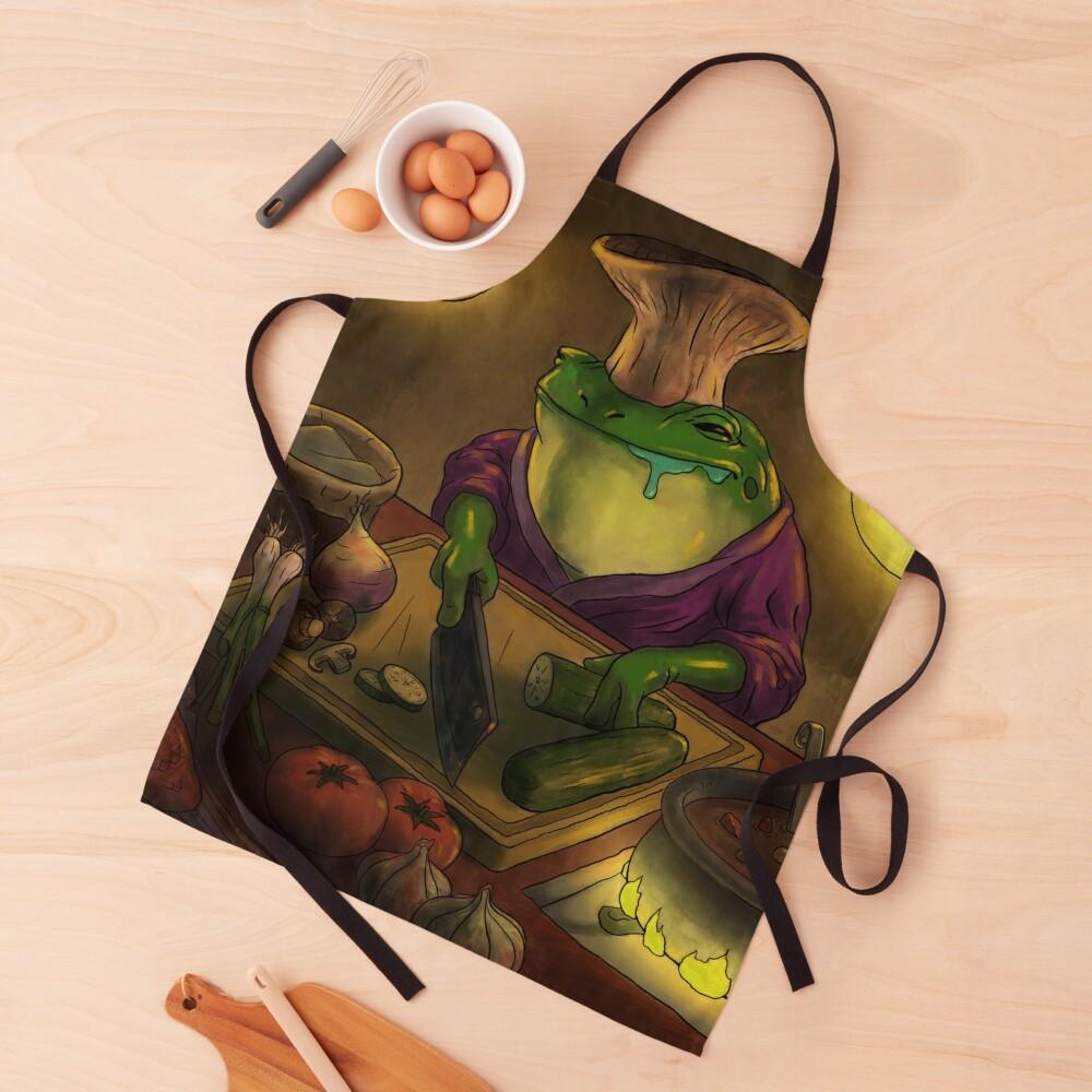 Frog Chef Apron