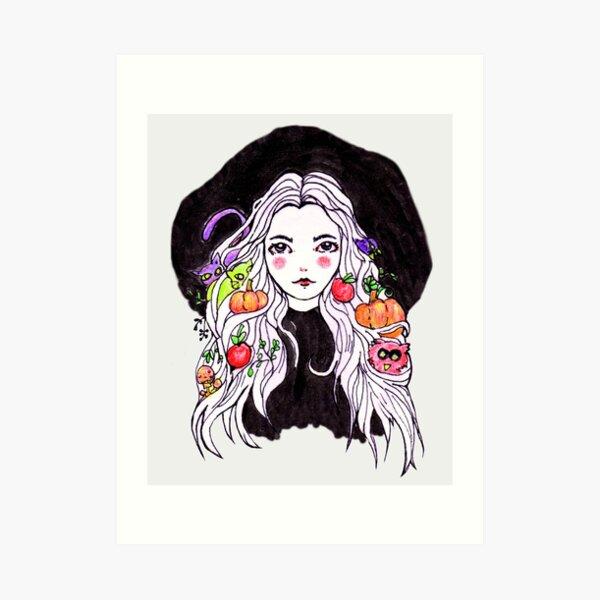 Witches Essentials Art Print