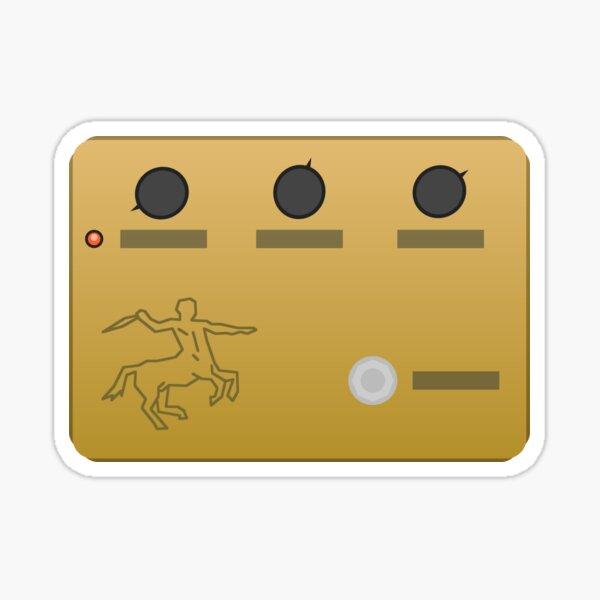 Centaur Pedal Sticker
