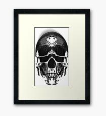 Matryoshka Skull Dark Framed Print