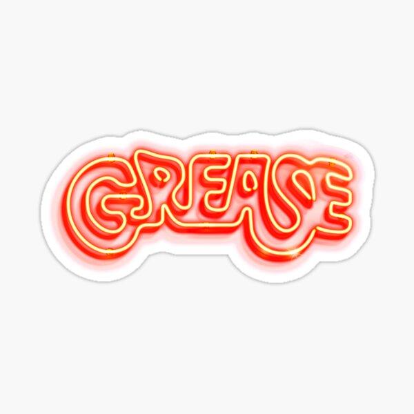 Grease Sticker