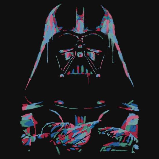 TShirtGifter presents: Neon Vader   Unisex T-Shirt