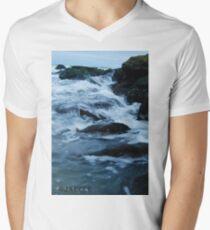 Streaming waves - Long Beach, NY T-Shirt