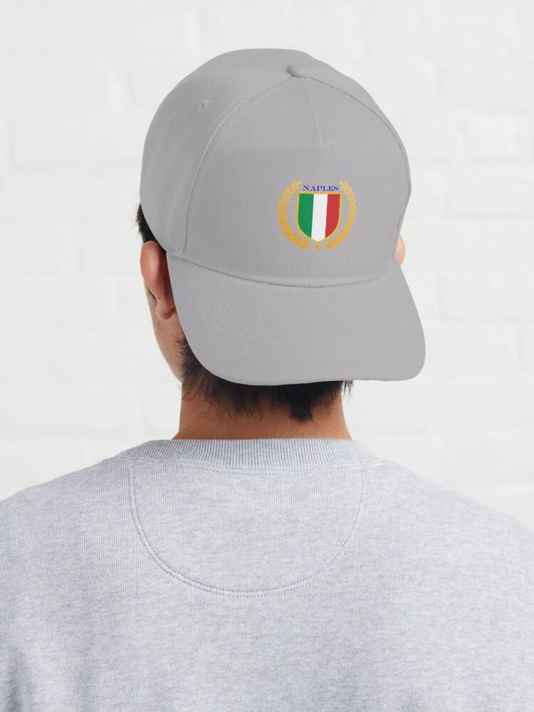 Alternate view of Naples Italy Cap