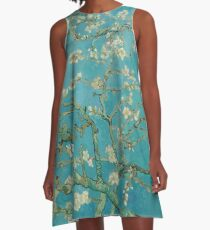 Almond Blossom By Vincent Van Gogh A-Line Dress