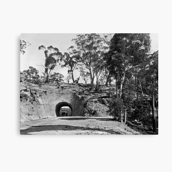 Wombeyan Caves Road Tunnel Canvas Print