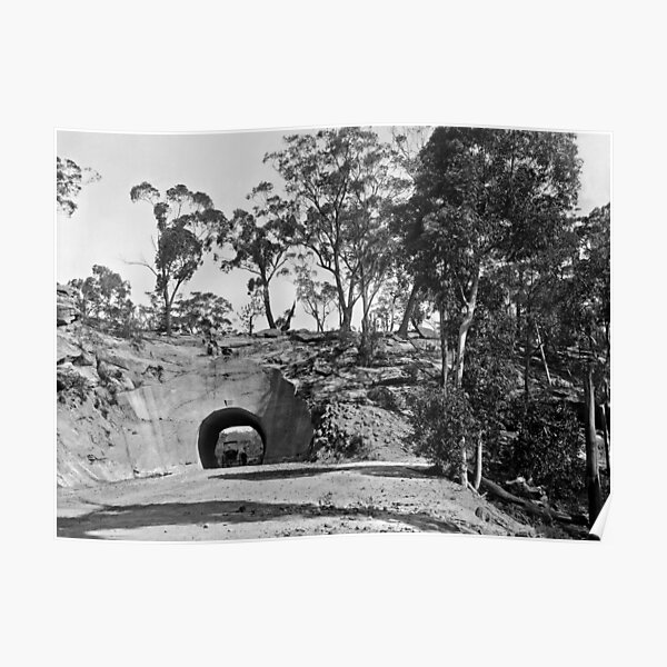 Wombeyan Caves Road Tunnel Poster