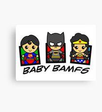 BABY BAMFS Canvas Print
