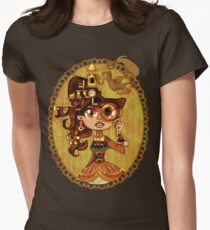 Steampunk Doc Womens Fitted T-Shirt
