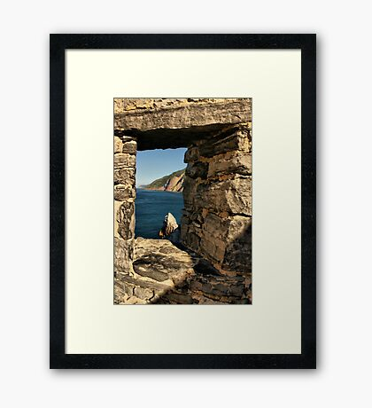 An Ancient View Framed Print
