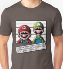 Mario Wanted T-Shirt