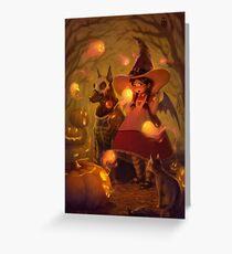 Spirits of Halloween Greeting Card
