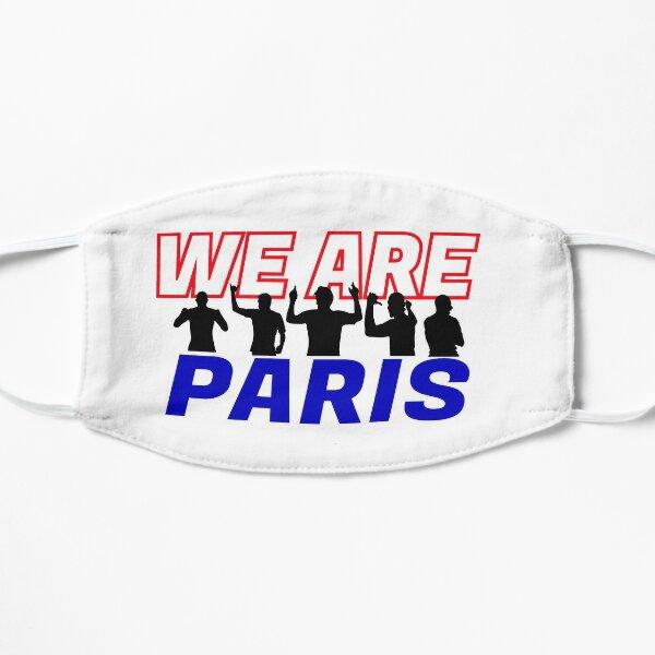 WIR SIND PARIS Flache Maske
