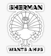 Rancho Relaxo-Sherman Sticker