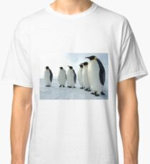 Lined up Emperor Penguins Classic T-Shirt