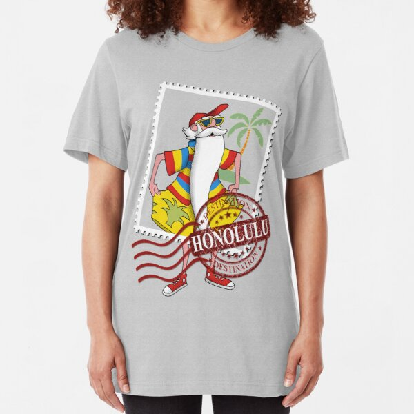 Honolulu Destination Slim Fit T-Shirt