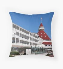 Hotel Del Coronado Throw Pillow