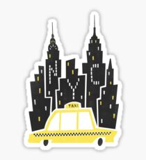 NYC Taxi Sticker