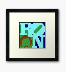 Ron Love (b) Framed Print