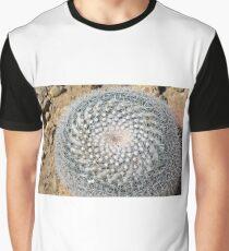 Round cactus on the ground Graphic T-Shirt