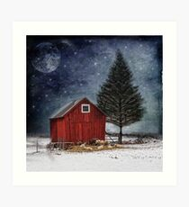 all is calm, all is bright... Art Print