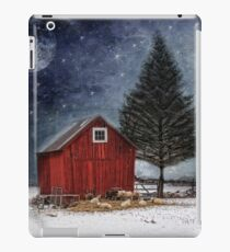 all is calm, all is bright... iPad Case/Skin