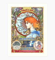 Nausicaa of the valley Art Print