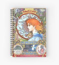 Nausicaa of the valley Spiral Notebook