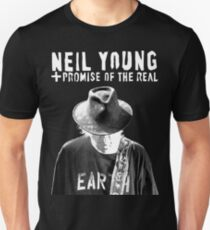 ADS5 Neil Young Earth REBEL CONTENT Tour 2016 Unisex T-Shirt