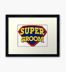 Super Groom Framed Print