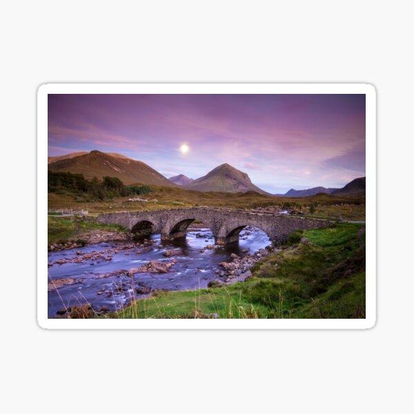 Isle of Skye Moonrise Sticker
