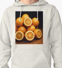 Oranges Piled Up Pullover Hoodie