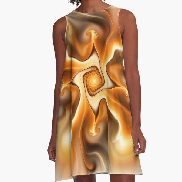 Do you like Caramel? A-Line Dress