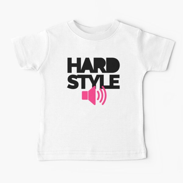 Hardstyle Speaker Music Quote Baby T-Shirt