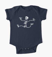 Skeleton Running Away Kids Clothes