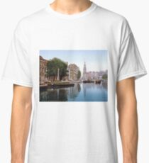 Vintage Amsterdam Photo-Picture Classic T-Shirt