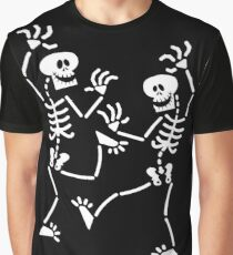 Dancing Skeletons Graphic T-Shirt