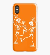 Dancing Skeletons iPhone Case