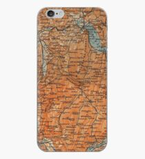 Vintage Map of Annecy France (1914) iPhone Case