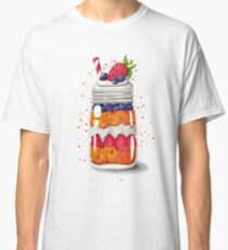 Strawberry and Blueberry shortcake in a jar Classic T-Shirt