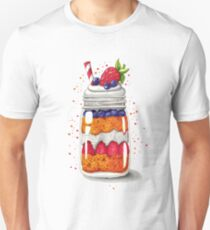 Strawberry and Blueberry shortcake in a jar T-Shirt
