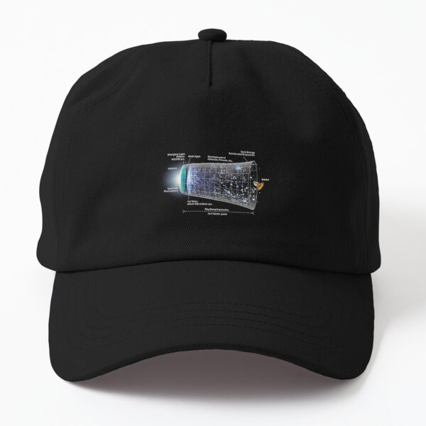 Shape of the universe Dad Hat