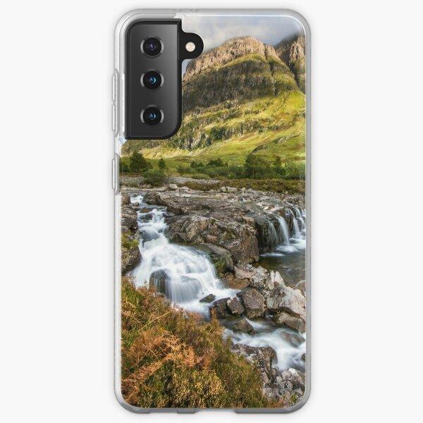 Falls of Glencoe Highlands of Scotland Samsung Galaxy Soft Case